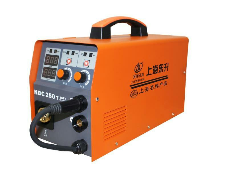 NBC系列逆变半自动气体保护焊机(一体系列电压220V带手工电焊) 型号:NBC-250T,